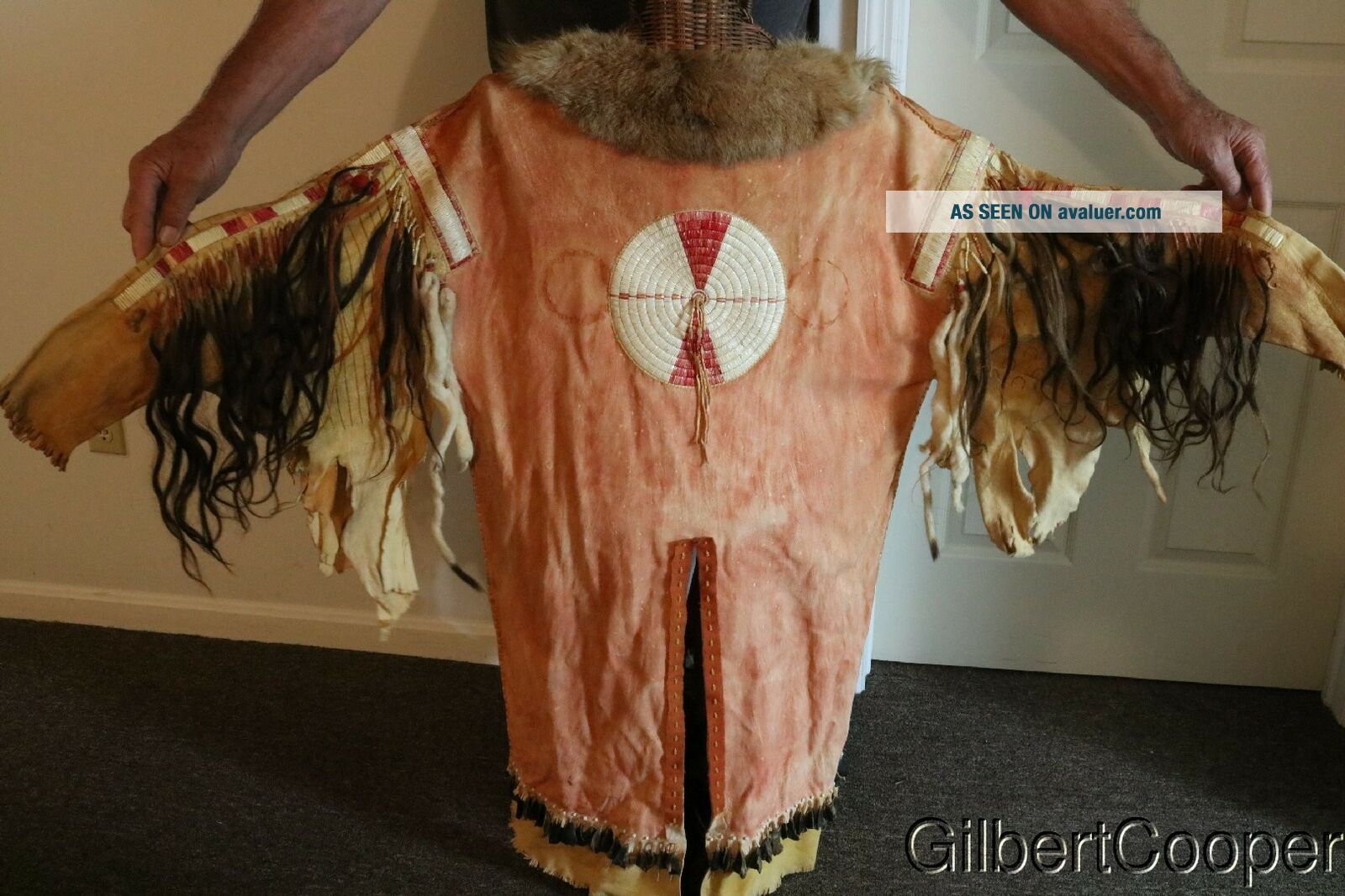 SIOUX SHAMANS BEADED AND QUILLED WAR SHIRT - MULTIPLE DROPS