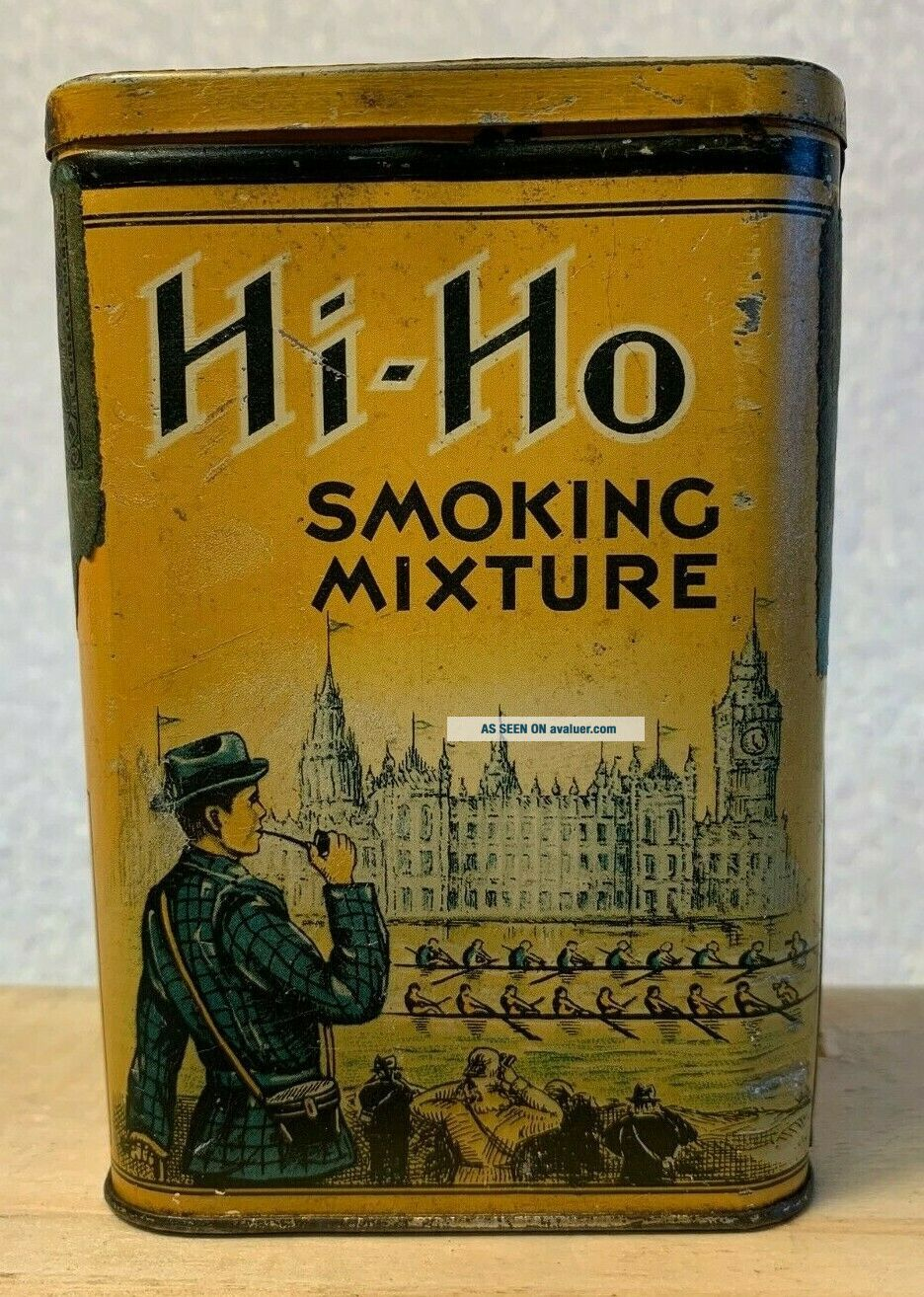 VERY RARE HI - HO POCKET TOBACCO TIN
