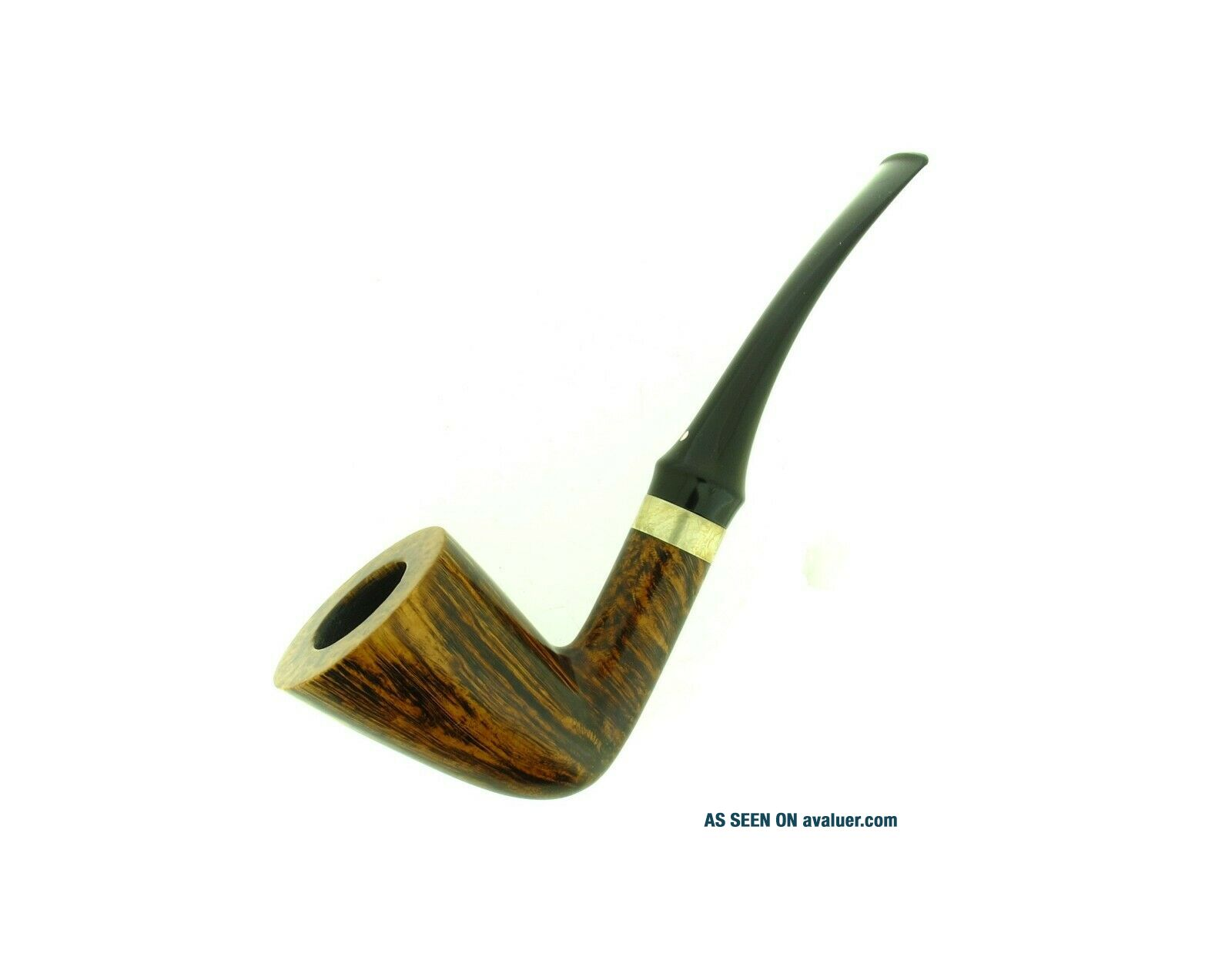 ANNE JULIE OF DENMARK GOLDEN CONTRAST SILVER BAND PIPE