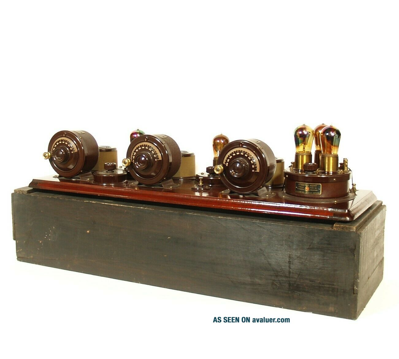 1923 Atwater Kent Model 10 Breadboard Radio In Factory Crate All