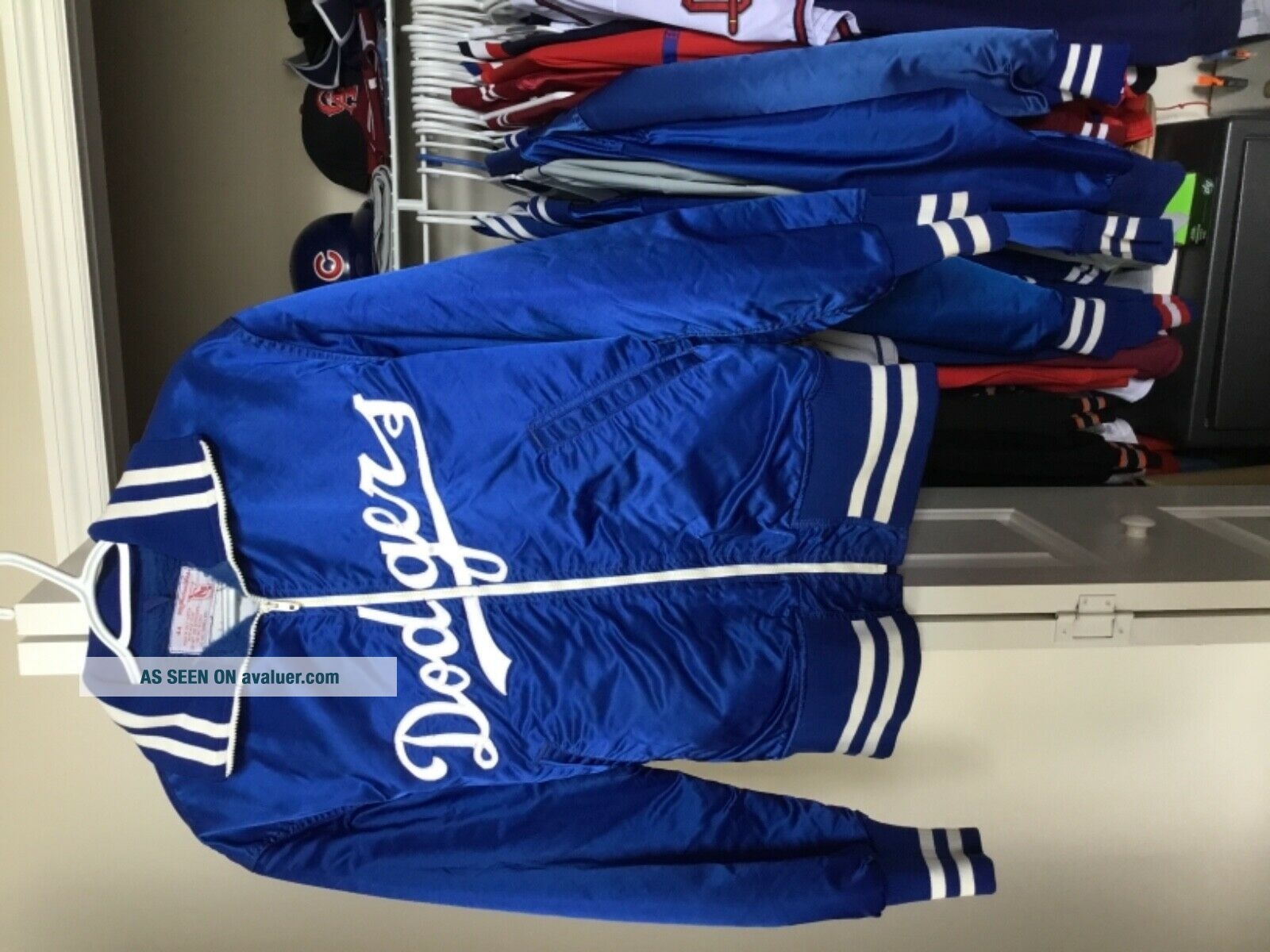 Sandy Koufax game worn Dodgers jacket.  Goodman's size 44 hall of fame