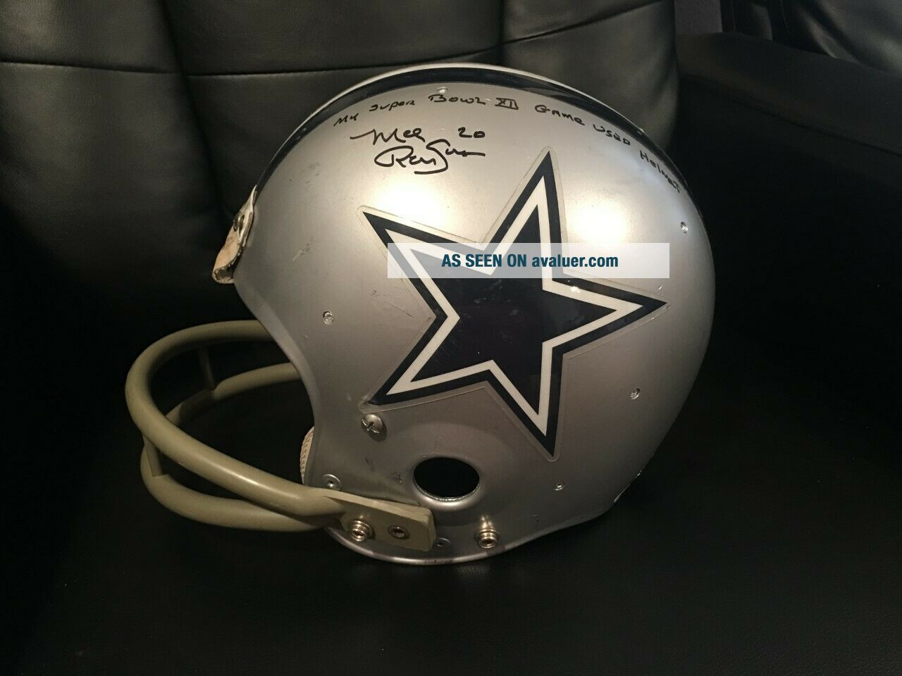 Dallas Cowboys Mel Renfro Signed Inscr