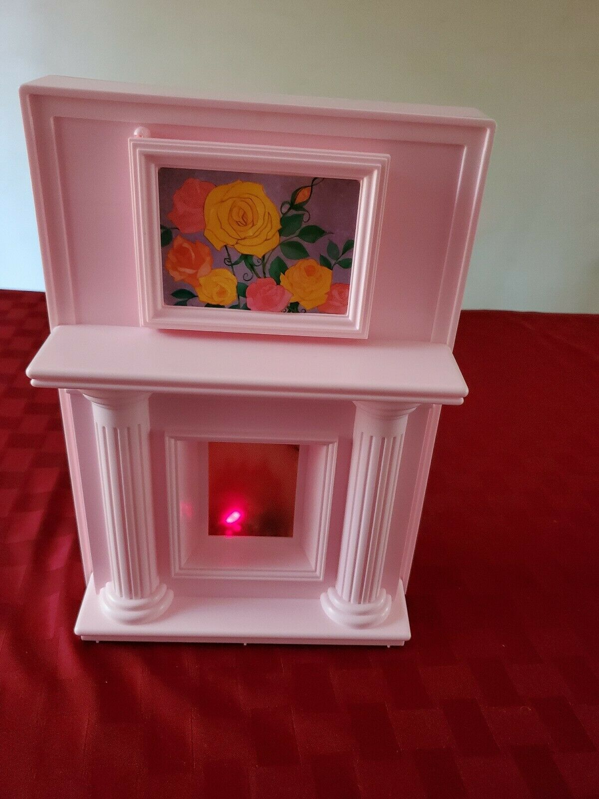 Barbie Magical Mansion Fireplace / Kitchen Work Center - - Extremely Rare